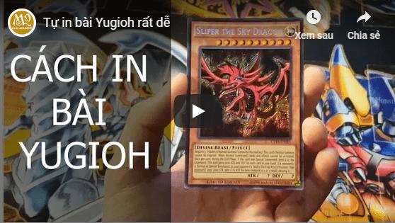 Cách in bài Yugioh