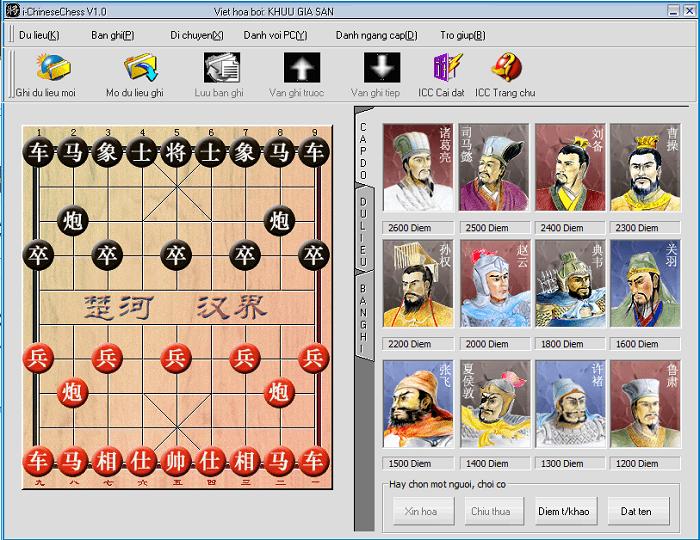 Game cờ tướng offline khó nhất - I-Chinese Chess