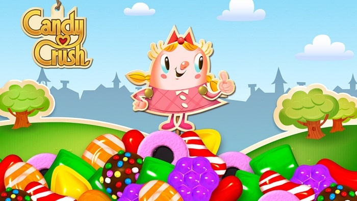 Game giết time Candy Crush Saga