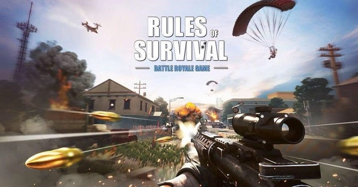 Game hot nhất Rules of Survival (ROS)