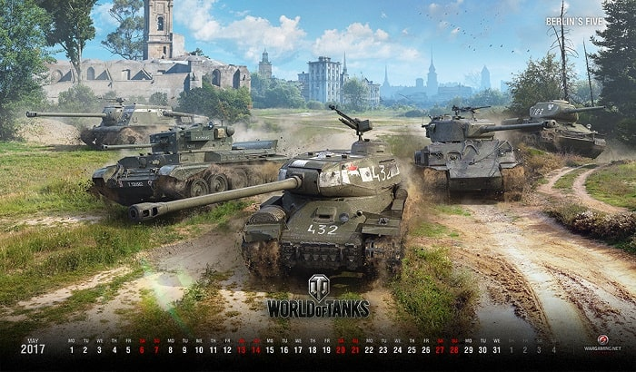 Game hot nhất hiện nay World of Tanks