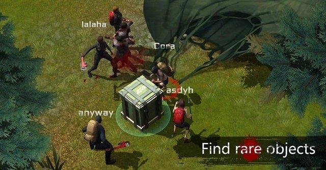 Game di động nhiều người chơi World Of Decayed