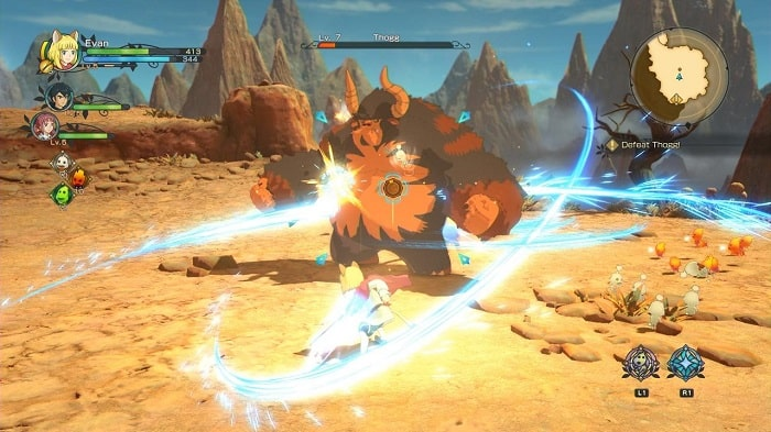Game nhập vai offline Ni no Kuni II : Revenant Kingdom