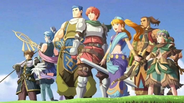 Game RPG Offline hay Ys Seven