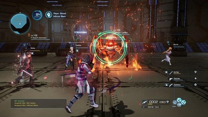 Game offline rpg Sword Art Online : Fatal Bullet