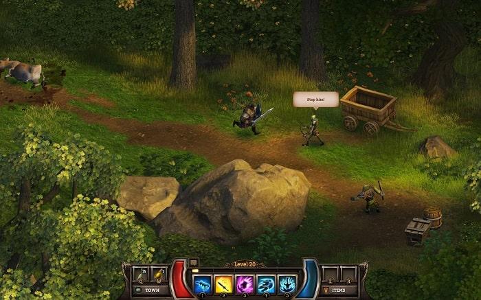 cốt truyện game nhập vai RPG hấp dẫn