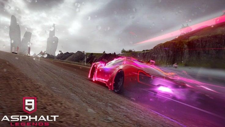 Game đua xe trên win 10 - Asphalt 9 : Legends