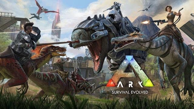 Game Giống Battleground - ARK : Survival Evolved