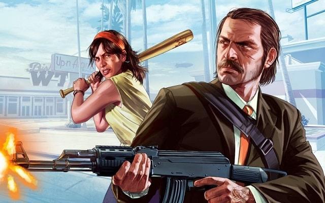Game Giống Battleground - GTA online