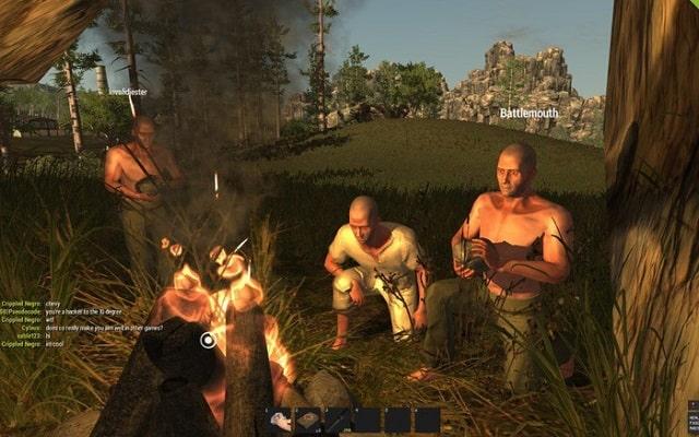 Game Giống Battleground - RUST
