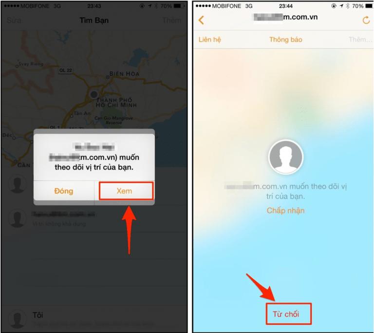 Cách định vị số điện thoại qua ứng dụng Find My Friend
