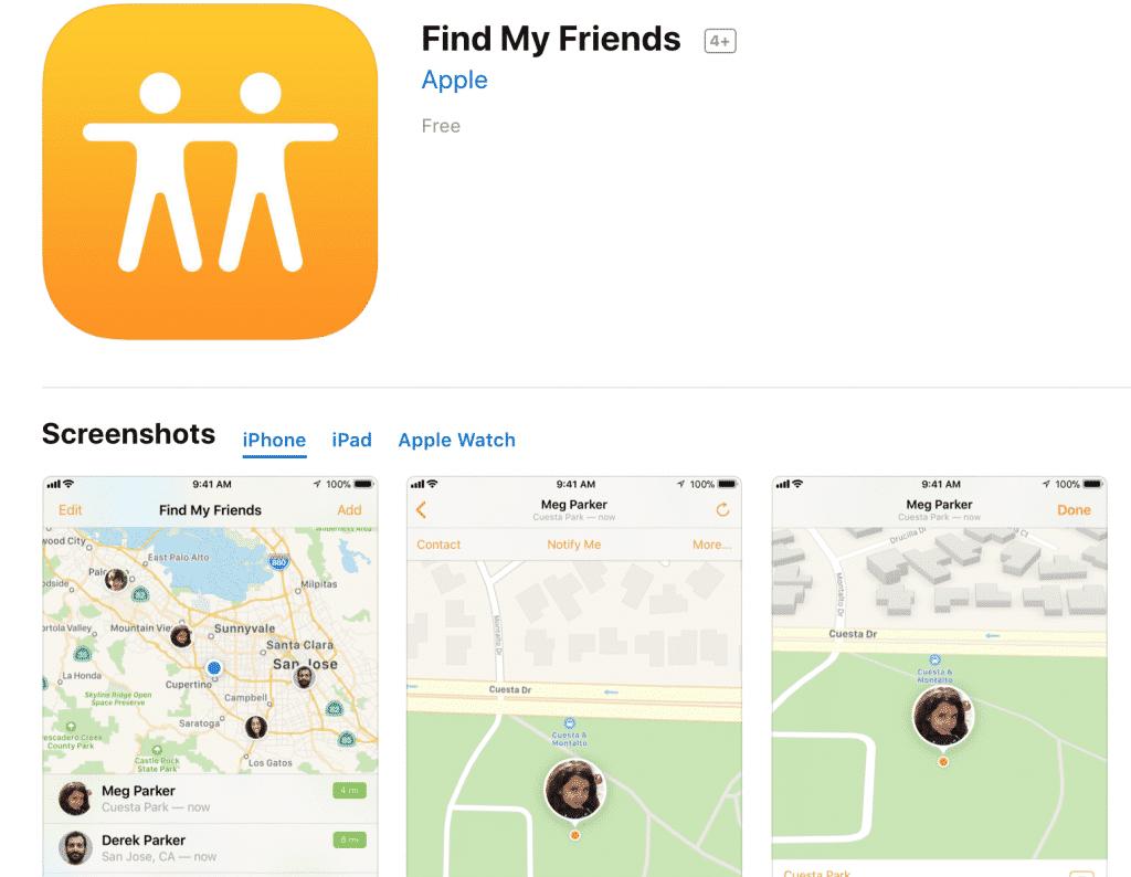 Cách định vị số điện thoại đang ở đâu qua ứng dụng Find My Friend